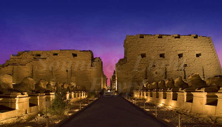 Karnak Sound and Light show in Egypt | Sound and Light Shows in Karnak Temple