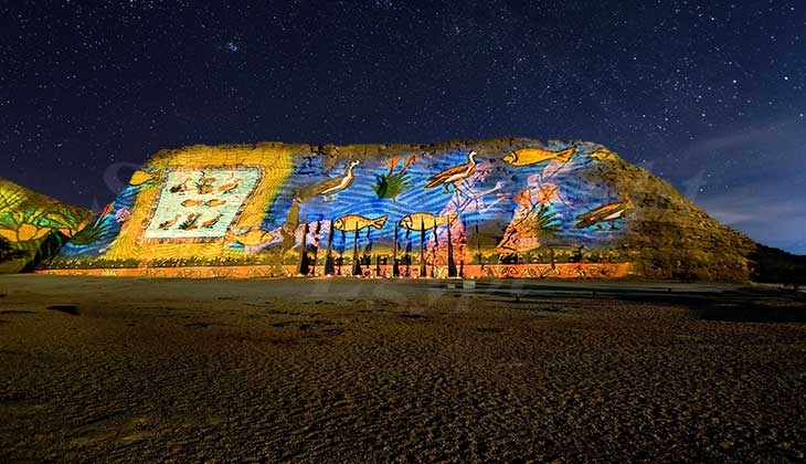 Abu Simbel Sound and Light show - Sound and Light Shows in Abu Simbel temple